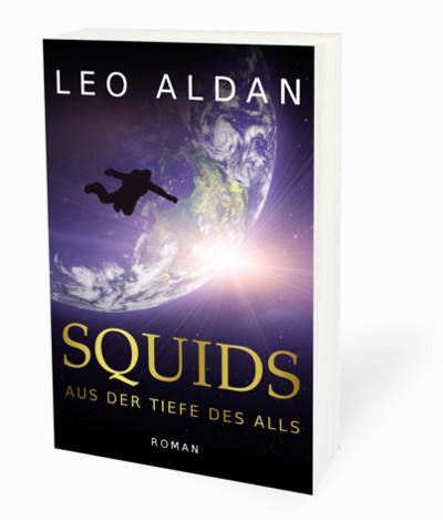 Buch Cover Squids Schatten