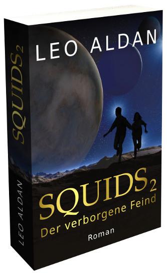Buch Cover Squids 2 3D