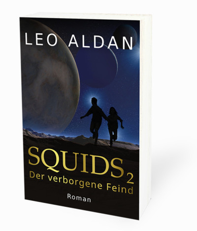 Buch Cover Squids 2 Schatten
